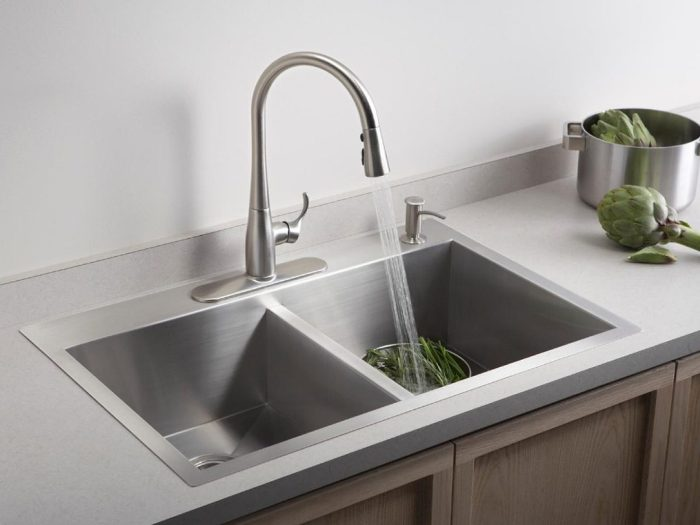 Seeking The Different Types of Kitchen Sinks